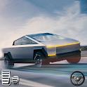 Cyber Truck Electric Car Drive Simulator 2020 icon