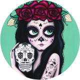 Logo of Garage Project La Calavera Catrina