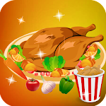 Cook chicken - Girls Games Icon