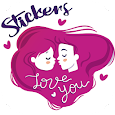 Couple Love Sticker Packs - WAStickerApps icon