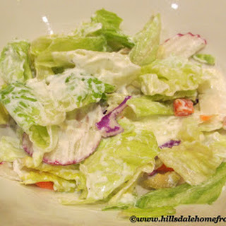 Low Calorie, Low Fat Ranch Dressing.