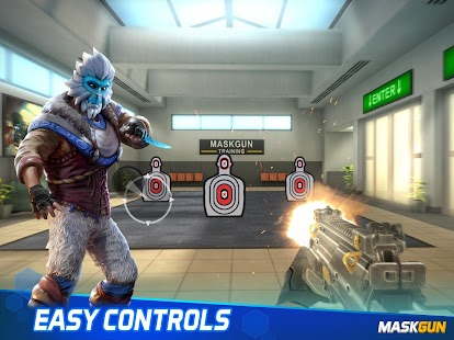 MaskGun Multiplayer FPS - Free Shooting Game Screenshot