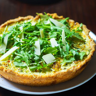 Summer Squash Roasted Corn Tart