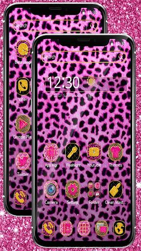 Pink Leopard Skin Themeud83dudc3e 1.1.3 screenshots 4