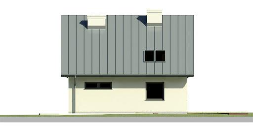 Dom przy Cyprysowej 23 - Elewacja tylna