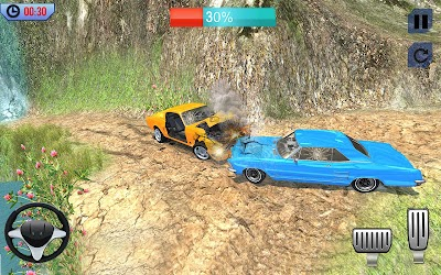 Download Offroad Car Crash Accident Simulator: Beam Engine