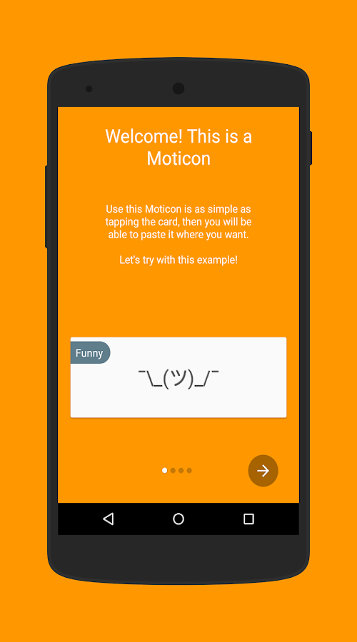 Moticons: Japanese Emoticons- screenshot