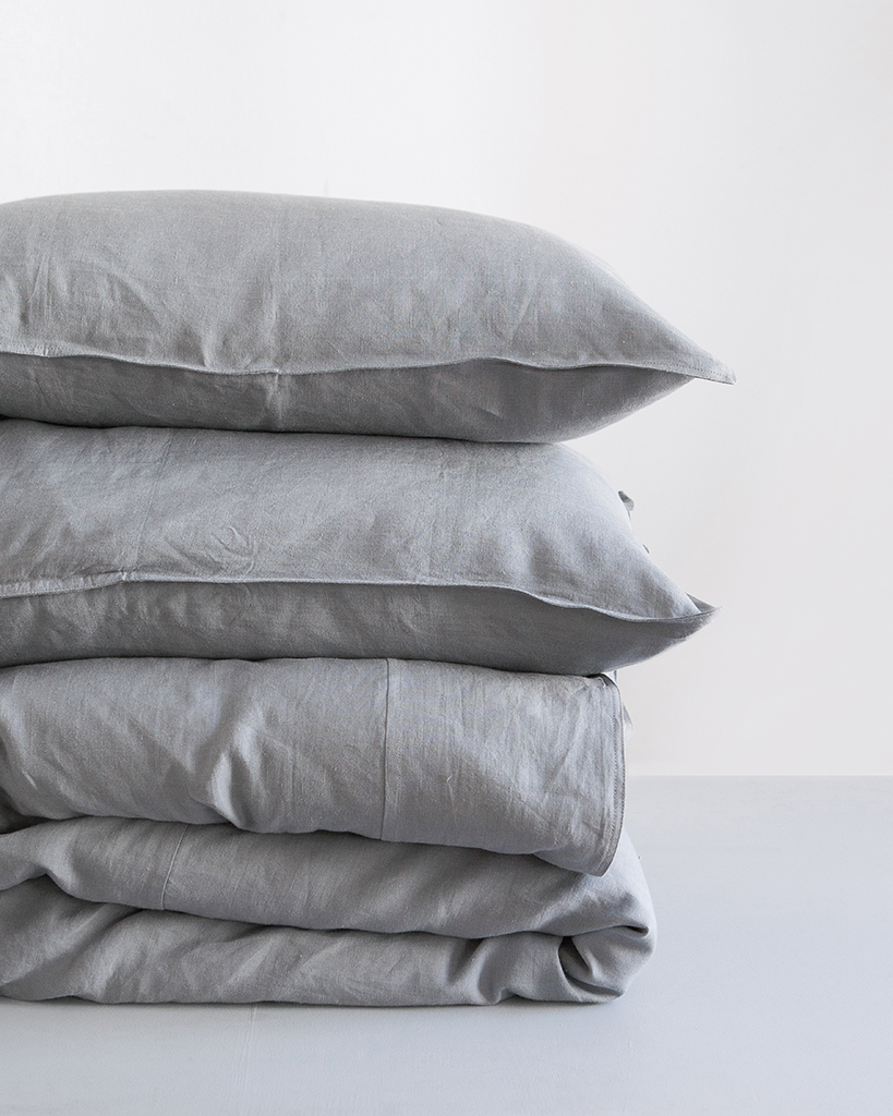 Fumo grey Kamma Linen from Mungo.