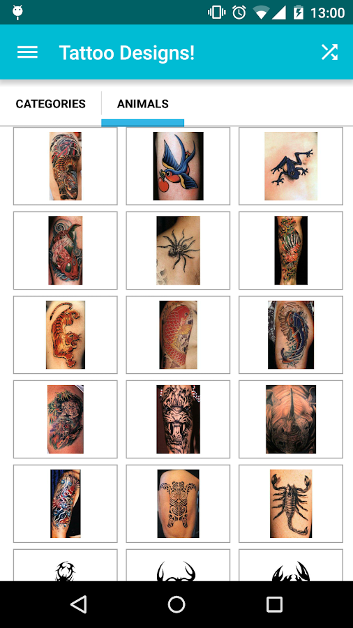 Tattoo Designs!- screenshot