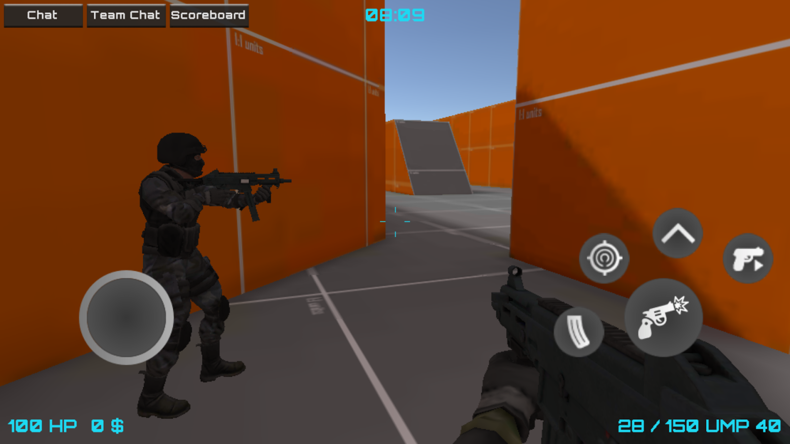 Unity android fps kit