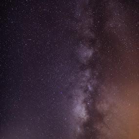 Night sky by Wojciech Toman - Landscapes Starscapes