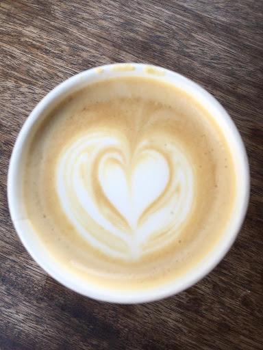 Yellow Tucan Latte art