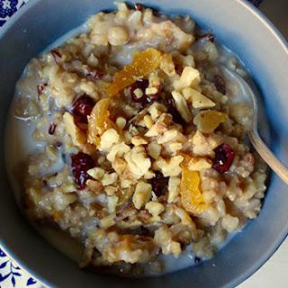 Fruity Whole Grain Breakfast Porridge.