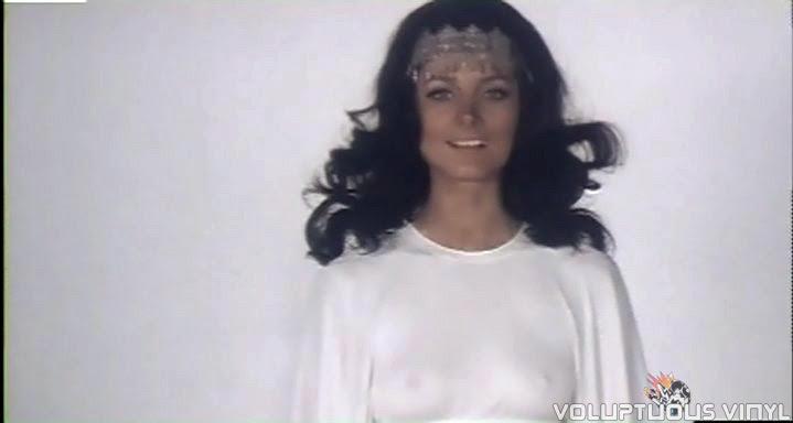 Barbara Bouchet goddess in The Golden Ass