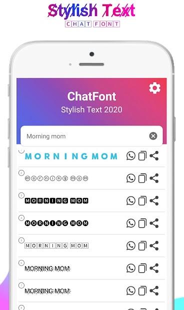 Stylish Text 2020: Fancy Text Generator, ChatFont