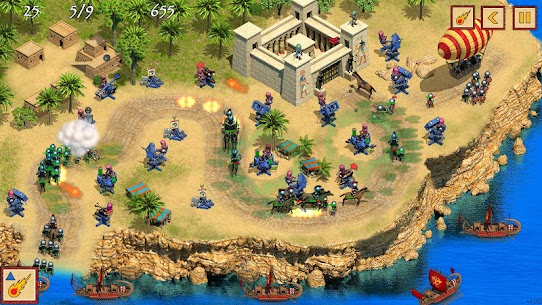 Defense of Egypt TD Premium MOD APK [Unlimited Money] 7