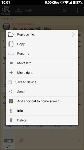 VIP Notes - keeper for passwords, documents, files screenshot 9