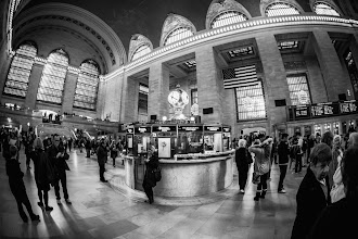 Photo: A shot of New York's Grand Central Terminal in busier times. I imagine it's pretty quiet there this morning.  #BreakfastClub curated by +GemmaCosta #monochromemonday curated by +Hans Berendsen+Jerry Johnson +Manuel Votta+Steve Bargeand +Nurcan Azaz