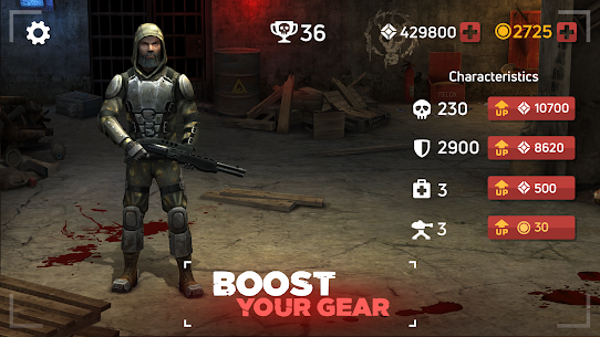 Zombie Arena: Fury Shooter Online MOD (Immortality/High Damage) 5