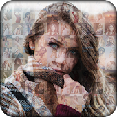 Mosaic Photo Effect