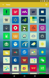 Tenex - Icon Pack Screenshot