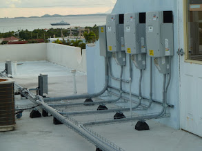 Photo: Hughes Medical Clinic - 30KW Grid tied system - view of the inverters