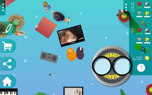 Pet Amoeba - Virtual Friends - screenshot