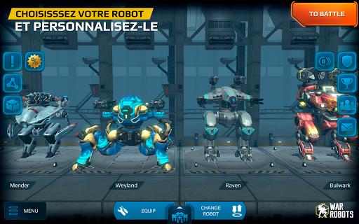 War Robots  captures d'u00e9cran 14