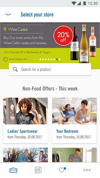 Lidl - Offers & Leaflets Android App Screenshot