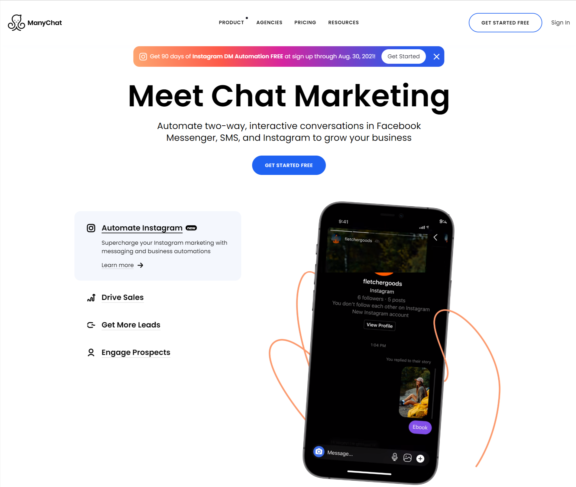 Manychat- meet chat marketing