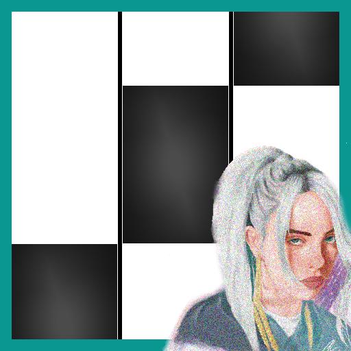 Icon for Bury a friend Billie Eilish Piano Black Tiles