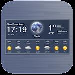Digital clock and weather widget ❄️ 16.1.0.47310