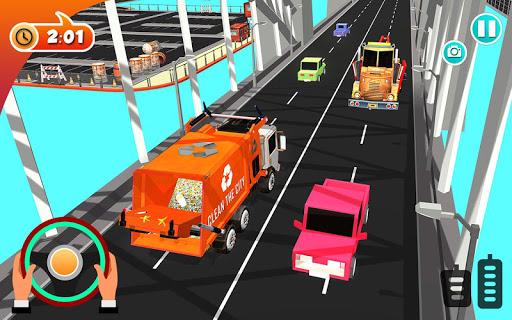 Urban Garbage Truck Driving - Waste Transporter 1 screenshots 10