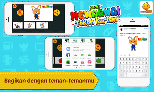 Mewarnai Kartun 1.0.3 screenshots 6
