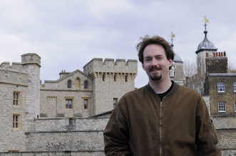 Photo: Drew at the Tower of London