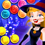 Magic Witch Bubble Shooter Icon