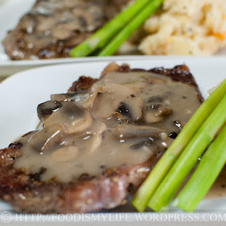 Steak With Mashed Potatoes And Vegetables Recipes