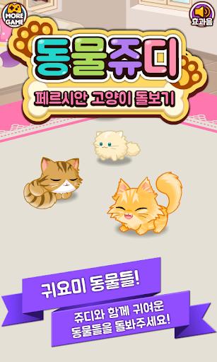 동물쥬디: 페르시안 고양이 돌보기