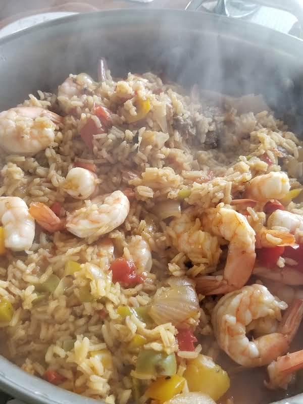 Jambalaya With Shrimp Recipe