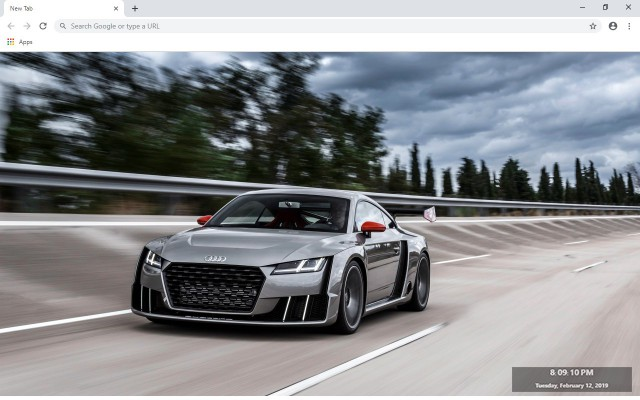Audi TT New Tab & Wallpapers Collection