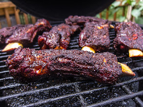 Photo: Project 365 Day 197-Slow Smoked Beef Back Ribs On The Big Green Egg