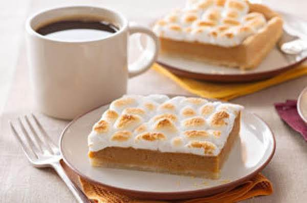 Sweet Potato Pie Bars Recipe