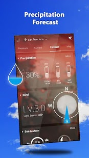 GO Weather - Widget, Theme, Wallpaper, Efficient - náhled