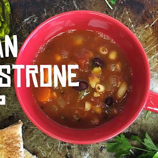 Vegan Minestrone Soup.