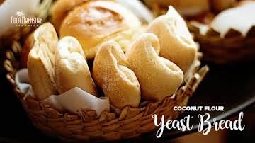 Coconut Flour Yeast Bread - Coco Treasure Organics