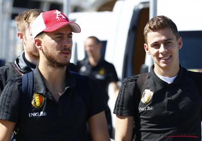 """Thorgan: """"Eden devra attendre que Messi et Ronaldo vieillissent pour être le meilleur"""""""