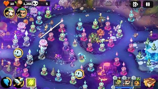 Hero Defense King MOD (Unlimited Gems) 4