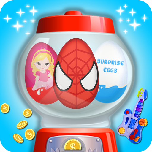 Surprise Eggs Candy machine (game)