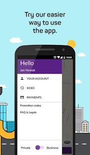 iTaxi - Aplikacja Taxi - náhled