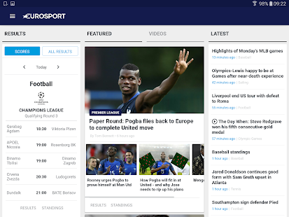 Eurosport- screenshot thumbnail